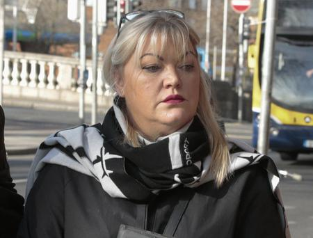 Anne Rossi, of Howth Road, Raheny, Dublin pictured at the Four Courts recently for a District Court hearing. Pic: Collins Courts