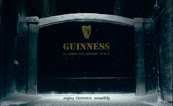 "The claim was made by the Alcohol Beverage Federation of Ireland, the drinks industry group, which also forecasts the Guinness Christmas ad about the ""home of the black stuff"" will be banned. Stock picture"