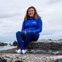 Olympic silver medallist Annalise Murphy last night flew out to Lisbon, from where she will begin a 45,000 mile round-the-world journey. Photo: Bryan Keane/INPHO