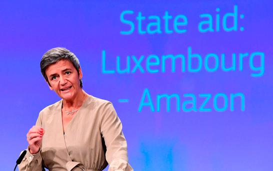 EU Commissioner for Competition Margrethe Vestager Picture: Getty