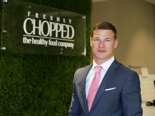 Brian Lee, co-founder and managing director of Freshly Chopped