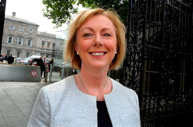 Social Protection Minister Regina Doherty welcomed the news. Photo: Tom Burke