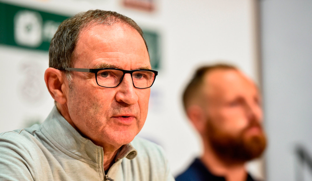 Ireland manager Martin O'Neill during a press conference