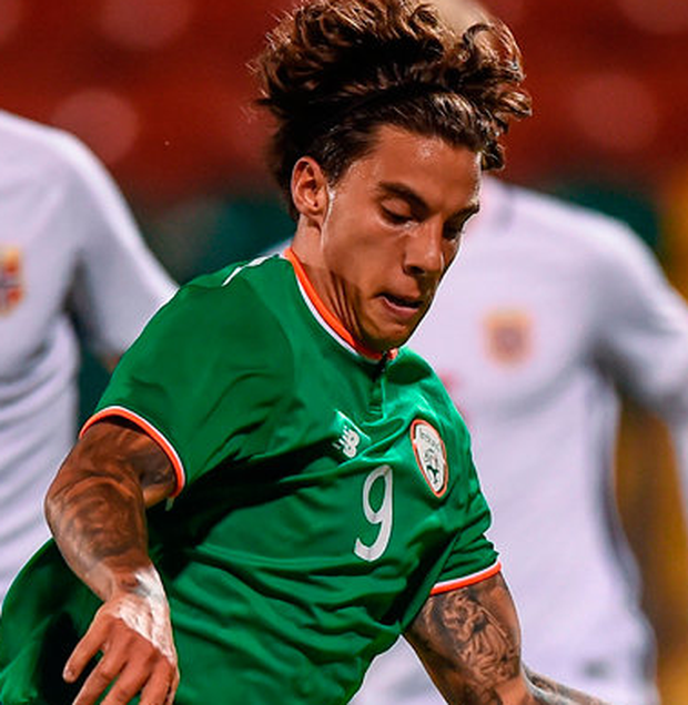 Republic of Ireland's Reece Grego-Cox