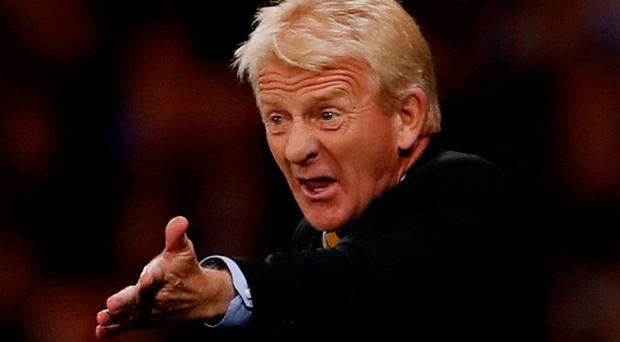 Scotland manager Gordon Strachan. Photo: Lee Smith/Action Images via Reuters
