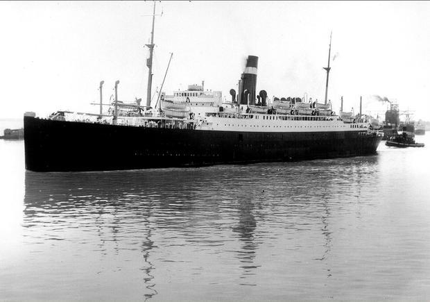 SS Athenia in 1933. Photo: National Archives of Canada