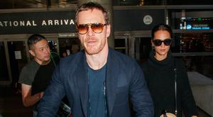 Michael Fassbender and Alicia Vikander are seen on October 04, 2017 in Los Angeles, California. (Photo by BG022/Bauer-Griffin/GC Images)