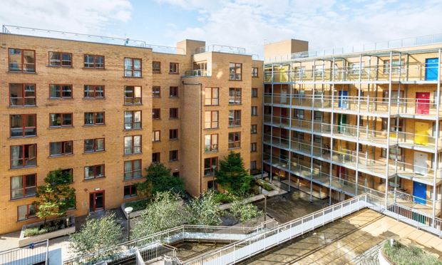 The 124 apartments at the North Bank scheme were brought to the market earlier this week