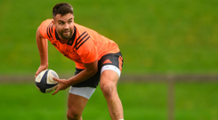 The Lions star insists Erasmus departure won't derail Munster's mission to claim silverware. Photo by Eóin Noonan/Sportsfile
