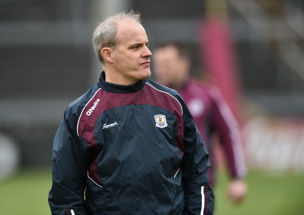 Galway manager Michael Donoghue during the Allianz Hurling League Division 1B Round 2 match between Galway and Wexford at Pearse Stadium in Galway. Photo by David Maher/Sportsfile
