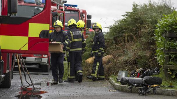One man killed and another hospitalised following Dundalk house-fire