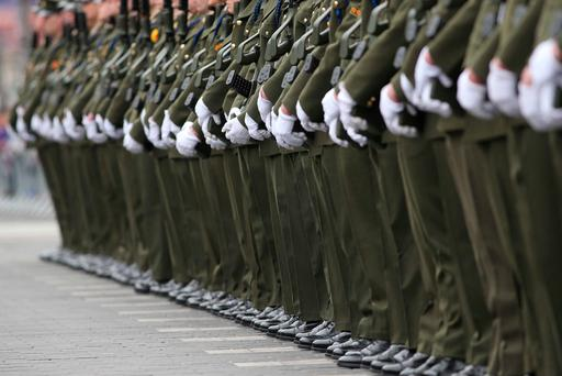 CRISIS: Army numbers have dwindled to a 50-year low. Photo: Sasko Lazarov/RollingNews.ie