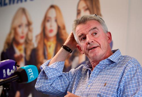 Ryanair CEO Michael O'Leary. Photo: Frank McGrath
