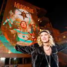TURN ON THE LIGHTS: Actress Amy de Bhrun at the Dublin launch of Illuminate Herstory. Photo: Andres Poveda
