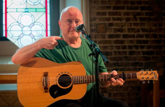 IRISH WAYS: Christy Moore's mother stood for Fine Gael in 1969. Photo: Gareth Chaney Collins