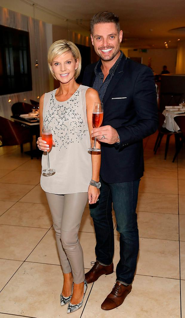 Keith Duffy and wife Lisa celebrate his birthday