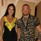 Dee Devlin posted a pic to Instagram of herself with partner Conor McGregor