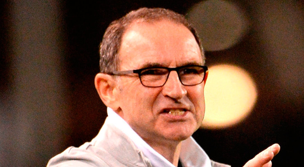 Republic of Ireland manager Martin O'Neill. Photo: Cody Glenn/Sportsfile