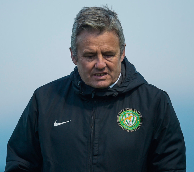 Bray Wanderers manager Harry Kenny has announced he will leave the club at the end of the season. Photo: David Fitzgerald/Sportsfile