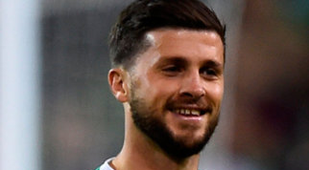 Shane Long: will be hopingto get back among the goals tonight. Photo: Clodagh Kilcoyne/Reuters