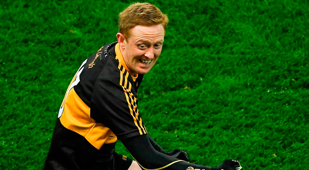 Colm Cooper of Dr. Crokes celebrates at the final whistle. Photo by Ray McManus/Sportsfile
