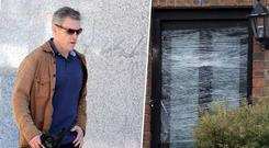 Gardai believe a 25-year-old drug dealer, who is a major player in the Kinahan operation in Dublin, ordered the attack on the house as a show of strength.