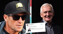 David Walsh helped expose Lance Armstrong as a drug cheat