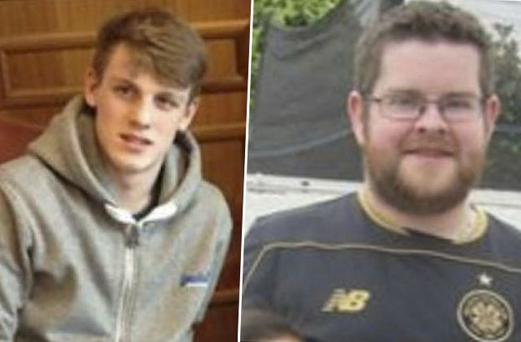 Paul Keating (32) and Shane Greenhalgh (19) said they did not realise the impact of their actions
