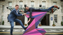 Pictured are Damien Clarke and Ian Fitzpatrick the co-founders of Zeminar