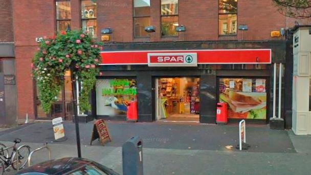 The Spar shop at 23 Upper Baggot Street in Dublin was issued with a closure order on September 27. The order was lifted the following day
