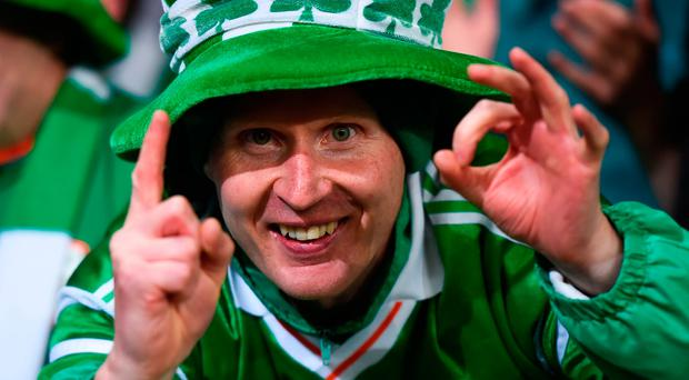 9 October 2017; Republic of Ireland supporter Alan Keane, from Roscommon, following the FIFA World Cup Qualifier Group D match between Wales and Republic of Ireland at Cardiff City Stadium in Cardiff, Wales. Photo by Stephen McCarthy/Sportsfile