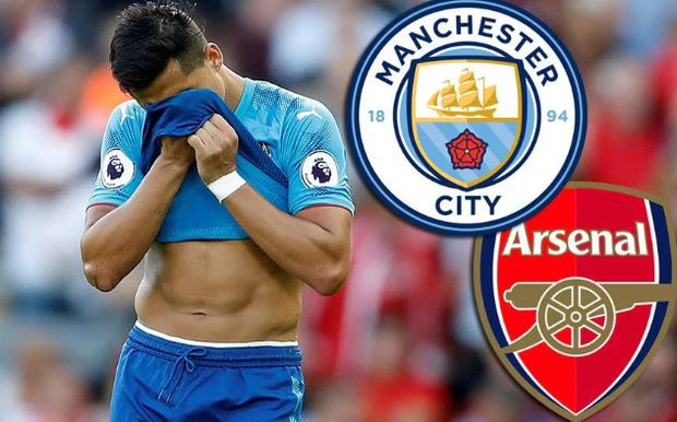 Alexis Sánchez's team-mates at Arsenal are understood to think the Chilean will leave north London in the January transfer window, with Manchester City the most likely destination for the forward
