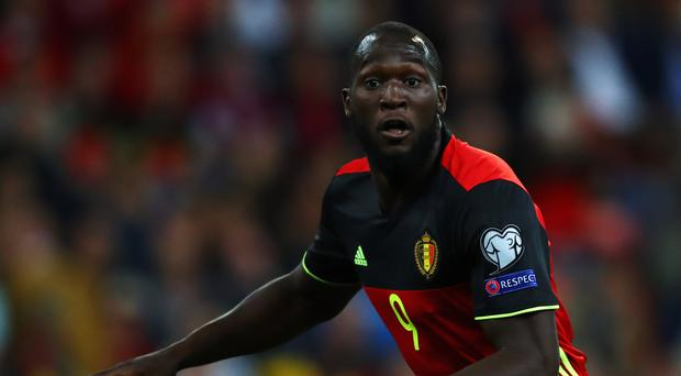Romelu Lukaku scored for Belgium against Cyprus on Tuesday (Photo by Dean Mouhtaropoulos/Getty Images)