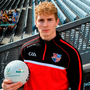 Kildare's Daniel Flynn was in Croke Park for the draw and launch of the Top Oil Leinster Schools Senior Football 'A' Championship. Photo: Sportsfile