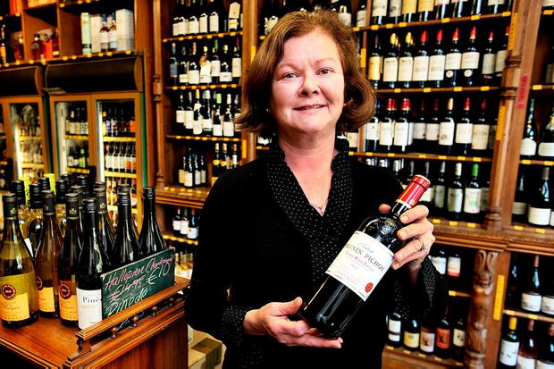 Evelyn Jones, Proprieter of 'The Vintry' on Rathgar Road. Photo: Steve Humphreys