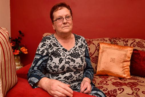 Pensioner Peggy Kearney at home in Ahane, Co Kerry. Photo: Domnick Walsh