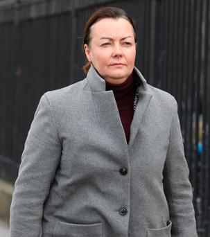 Deirdre Foley faces trial over collective redundancies at the iconic Clerys department store. Picture: Collins