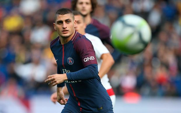 Italy's star man Marco Verratti in action for his club PSG. Photo: Jean Catuffe/Getty Images