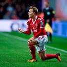Denmark's Christian Eriksen. Photo: Reuters