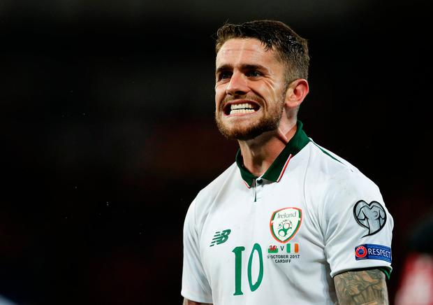 Ireland's Robbie Brady. Photo: REUTERS