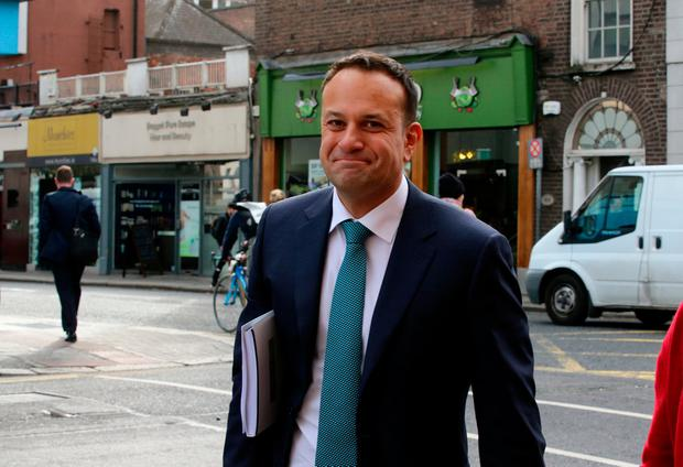 Taoiseach Leo Varadkar on Budget day 2018. Photo: Mark Condren