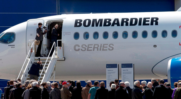 UK business minister welcomes Airbus stake in Bombardier's C Series