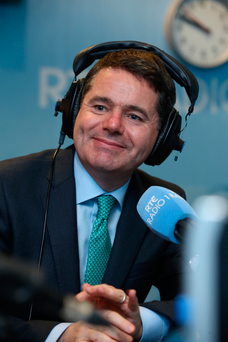 Paschal Donohoe is in studio with Sean O'Rourke this morning