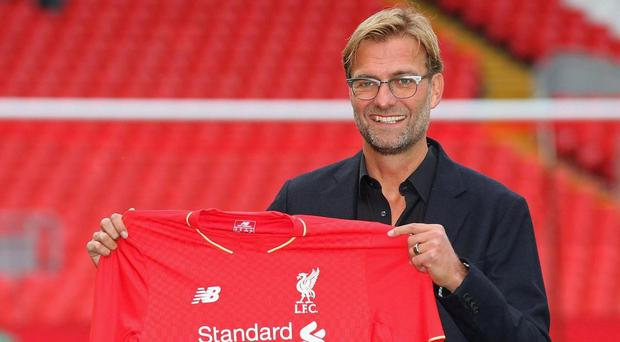 Klopp has been at Liverpool since October 2015. Getty