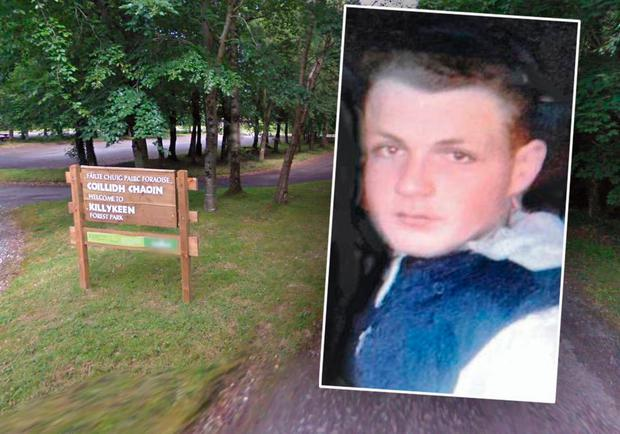 Jonathan Mongan (16) who got into difficulties swimming in a lake at Killykeen Forest Park near Cavan