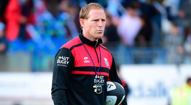 Former Munster scrum-half Mike Prendergast prepares to welcome Connacht to Oyonnax this weekend. Photo by Dave Winter/Icon Sport
