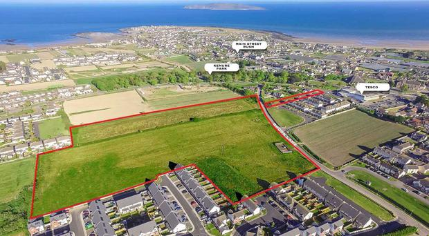 Dublin site with planning for 129 houses for €5.75m
