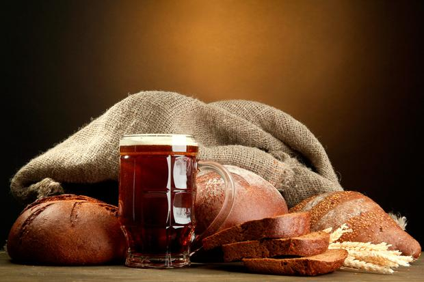 Ale and bread were considered the most important components of the early modern Irish diet Stock photo: Depositphotos