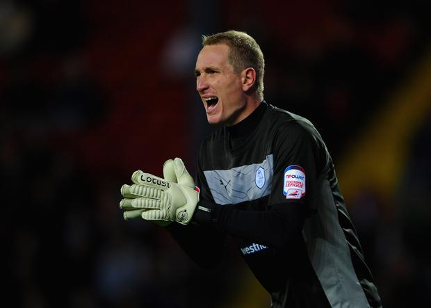 Chris Kirkland in action for Sheffield Wednesday in 2012 (Photo by Michael Regan/Getty Images)