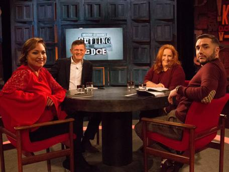Norah Casey, Brendan O'Connor, Mary Coughlan, Frankie Gaffney on RTE's Cutting Edge
